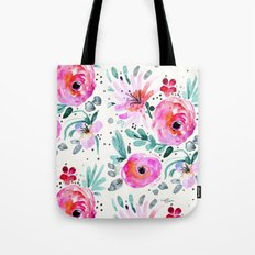 Colby Floral Tote Bag