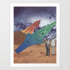 Space Dirt Art Print