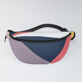 Modern Poetic Geometry Fanny Pack