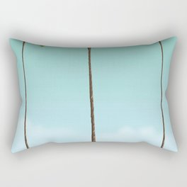 Three Palms Rectangular Pillow