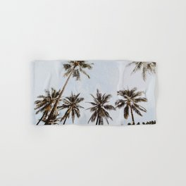palm trees xiv / chiang mai, thailand Hand & Bath Towel