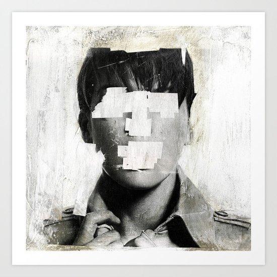 Faceless | number 02 Art Print
