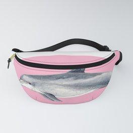 Bottlenose dolphin pink Fanny Pack