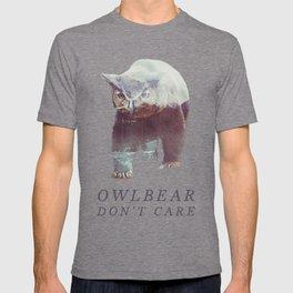 Owlbear (Typography) T-shirt