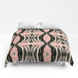 Floating Alone In An Empty Heart (Pattern 1) Comforters