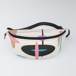Candys Atomic Retro Design Fanny Pack