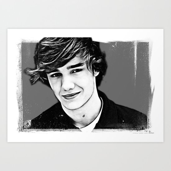 Liam Payne Art Print