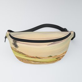 Chambers Bay Golf Course 15th Hole Fanny Pack
