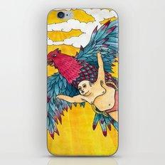 Lazy Tarzan - Flying iPhone & iPod Skin