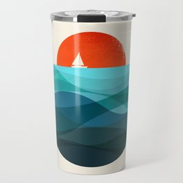 Deep blue ocean Travel Mug