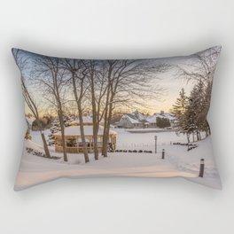 Winter Peace Rectangular Pillow