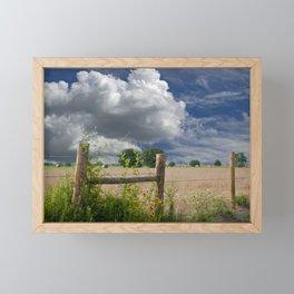 Farmland Framed Mini Art Print