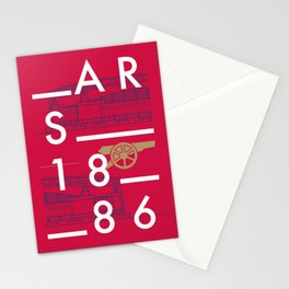 Emirates - Arsenal - Typoline Stadiums Stationery Cards