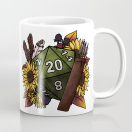Ranger Class D20 - Tabletop Gaming Dice Coffee Mug