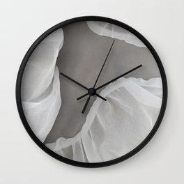 Organdí&Silicon III Wall Clock
