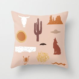 Death Valley Days 1 Throw Pillow