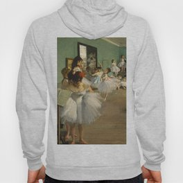 """Edgar Degas """"The dance class"""" Hoody"""