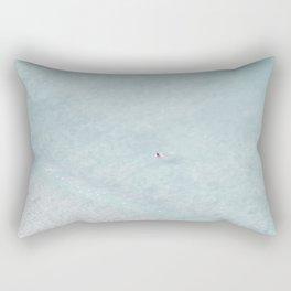 beach - the swimmer Rectangular Pillow