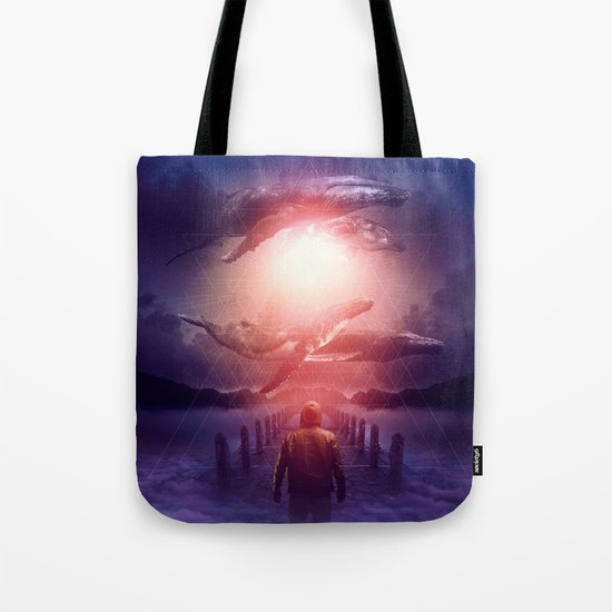 The Space Between Dreams & Reality Tote Bag