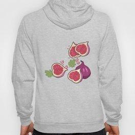 fig pattern Hoody