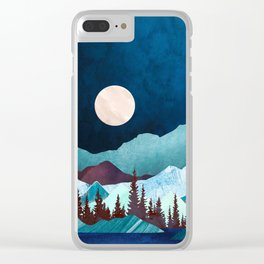 Moon Bay Clear iPhone Case
