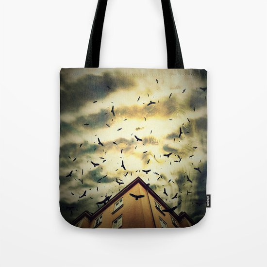 Somebody is watching you Tote Bag