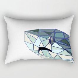 Geometric Shark Rectangular Pillow