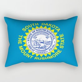 Flag of South Dakota Rectangular Pillow
