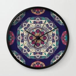 Colorful Mandala Pattern 007 Wall Clock