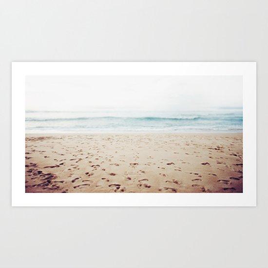 Guadalupe Beach Art Print