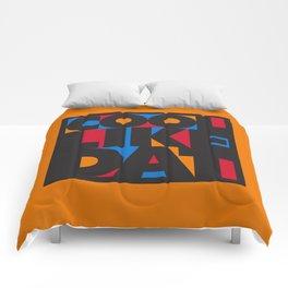 Cool Like Dat - Orange Comforters