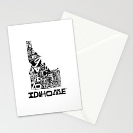 County Lines Design Stationery Cards