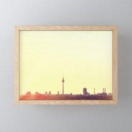 Yellowish Berlin Framed Mini Art Print