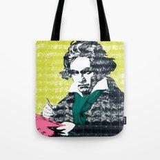 Ludwig van Beethoven 9 Tote Bag