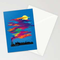 Hidden in the Smog (day) Stationery Cards