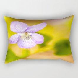 Wildflower Pansy Summer Blossom #decor #society6 #buyart Rectangular Pillow