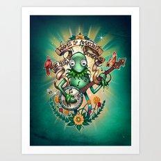 Star Gazer Art Print