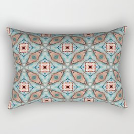 Four Truths | Lotus Pattern Collection Rectangular Pillow