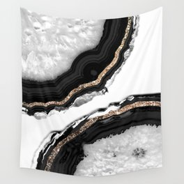 Agate Glitter Glam #2 #gem #decor #art #society6 Wall Tapestry