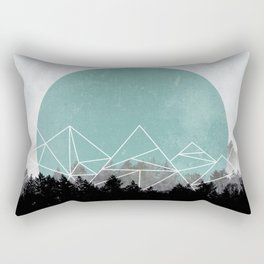 Woods Abstract 2 Rectangular Pillow