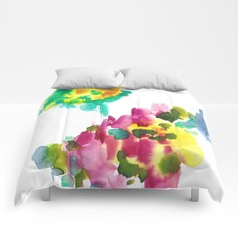 180802 Beautiful Rejection 15 | Colorful Abstract Comforters