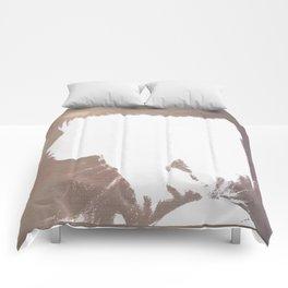 White Silhouette  Comforters