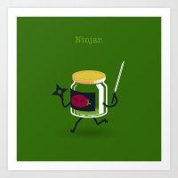 A&A - Ninjar. Art Print