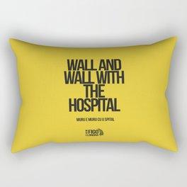 MUR E MUR CU U SPITAL Rectangular Pillow