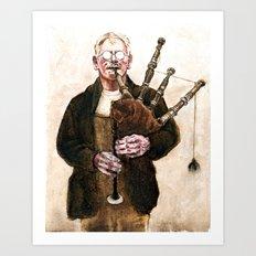 Angus McQuarrie Art Print