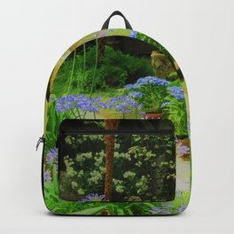 Museum Statue Garden Peace Backpack