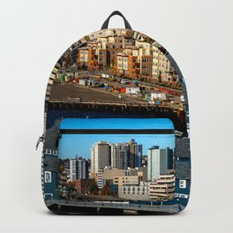 Seattle Space Needle and Aquarium Backpack