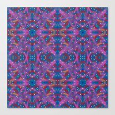 A Night To Remember Kaleidoscope Canvas Print
