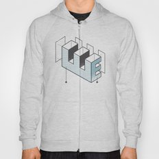 The Exploded Alphabet / E Hoody