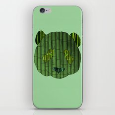 Panda & bamboo iPhone & iPod Skin